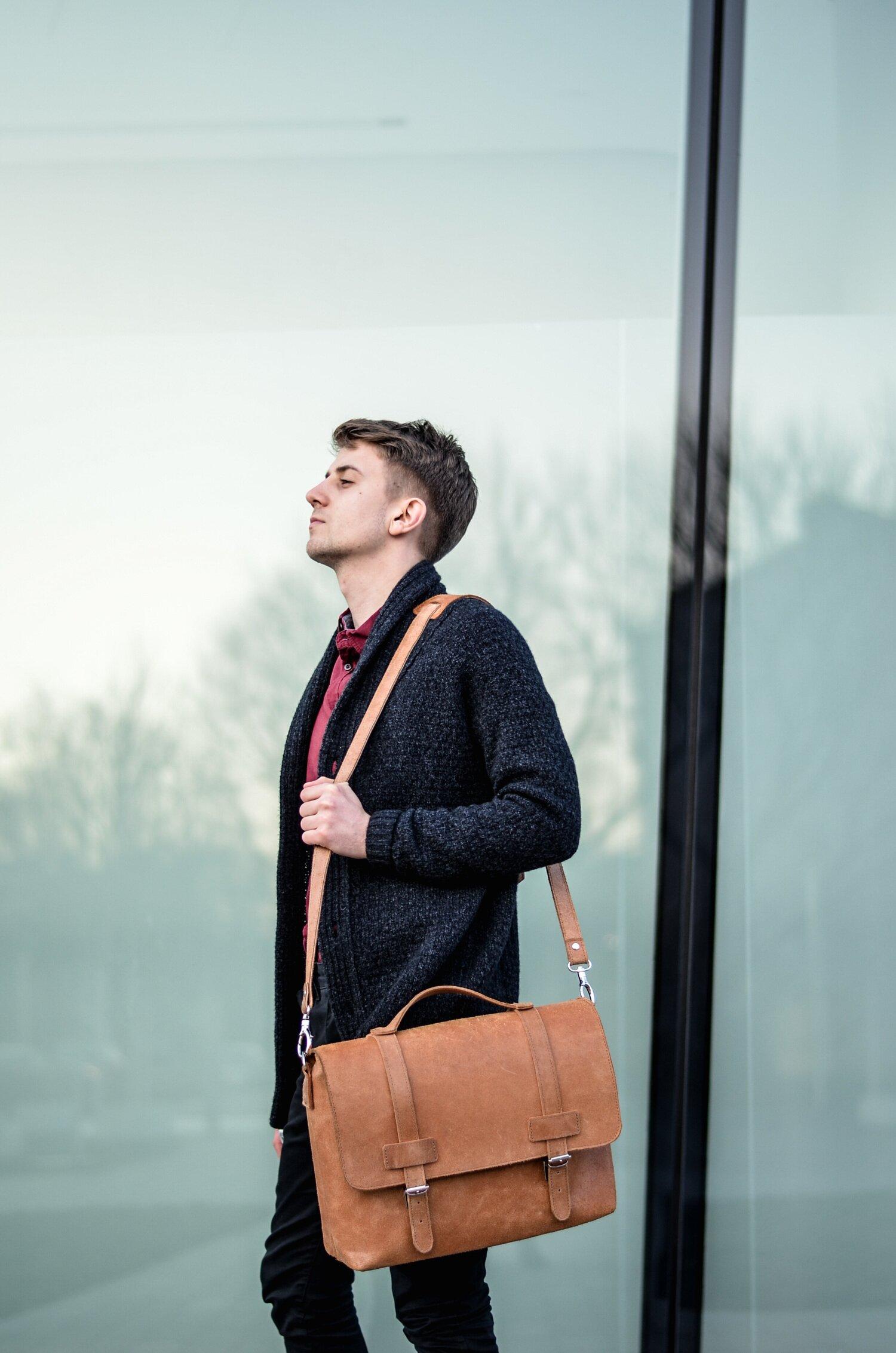 Listonoszka, Torba na ramię, Torba męska, Akcesoria i dodatki męskie 2016, Moda męska, Gmale