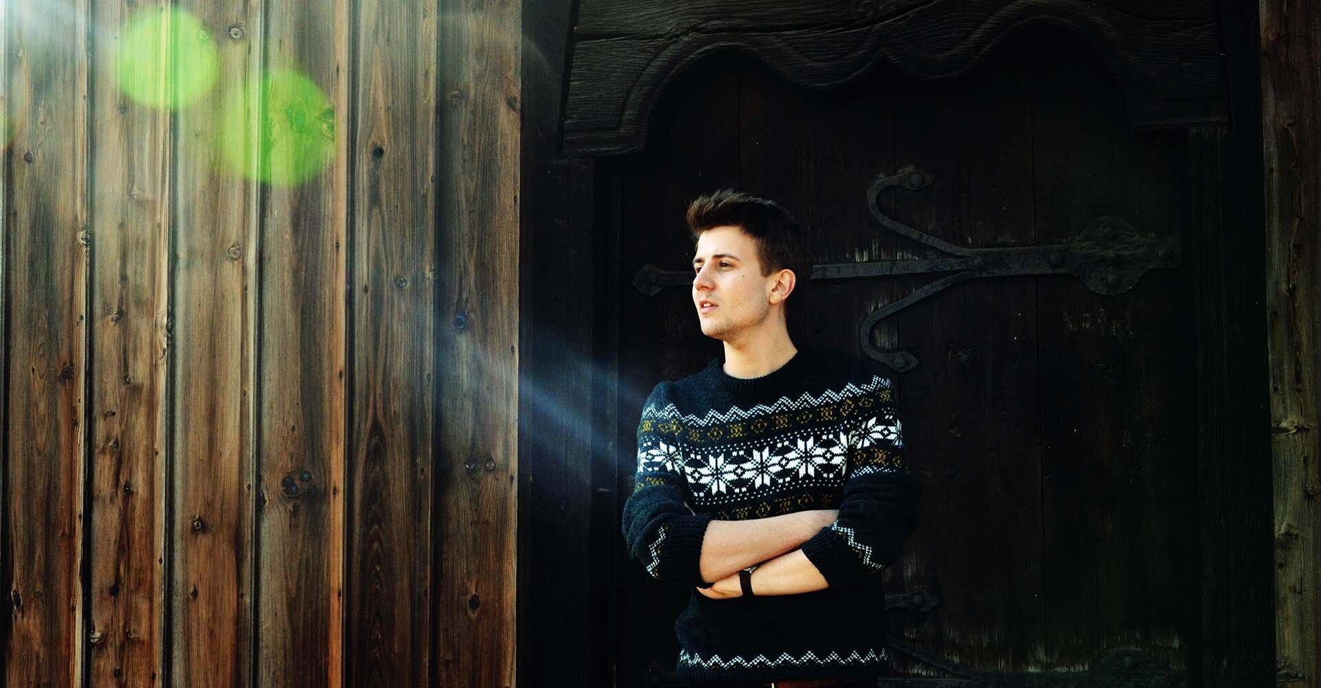Sweter Świąteczny, sweter męski w świąteczne wzory