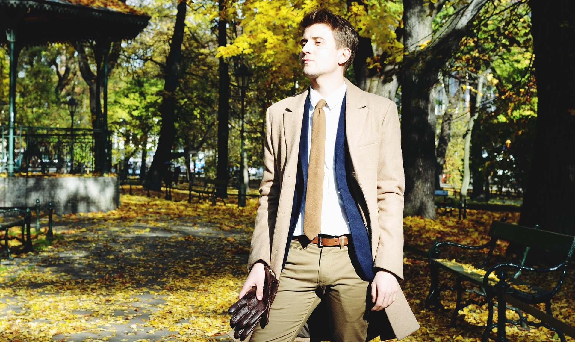 Dyplomatka Camelowa - Blog o modzie męskiej - Płaszcz męski H&M