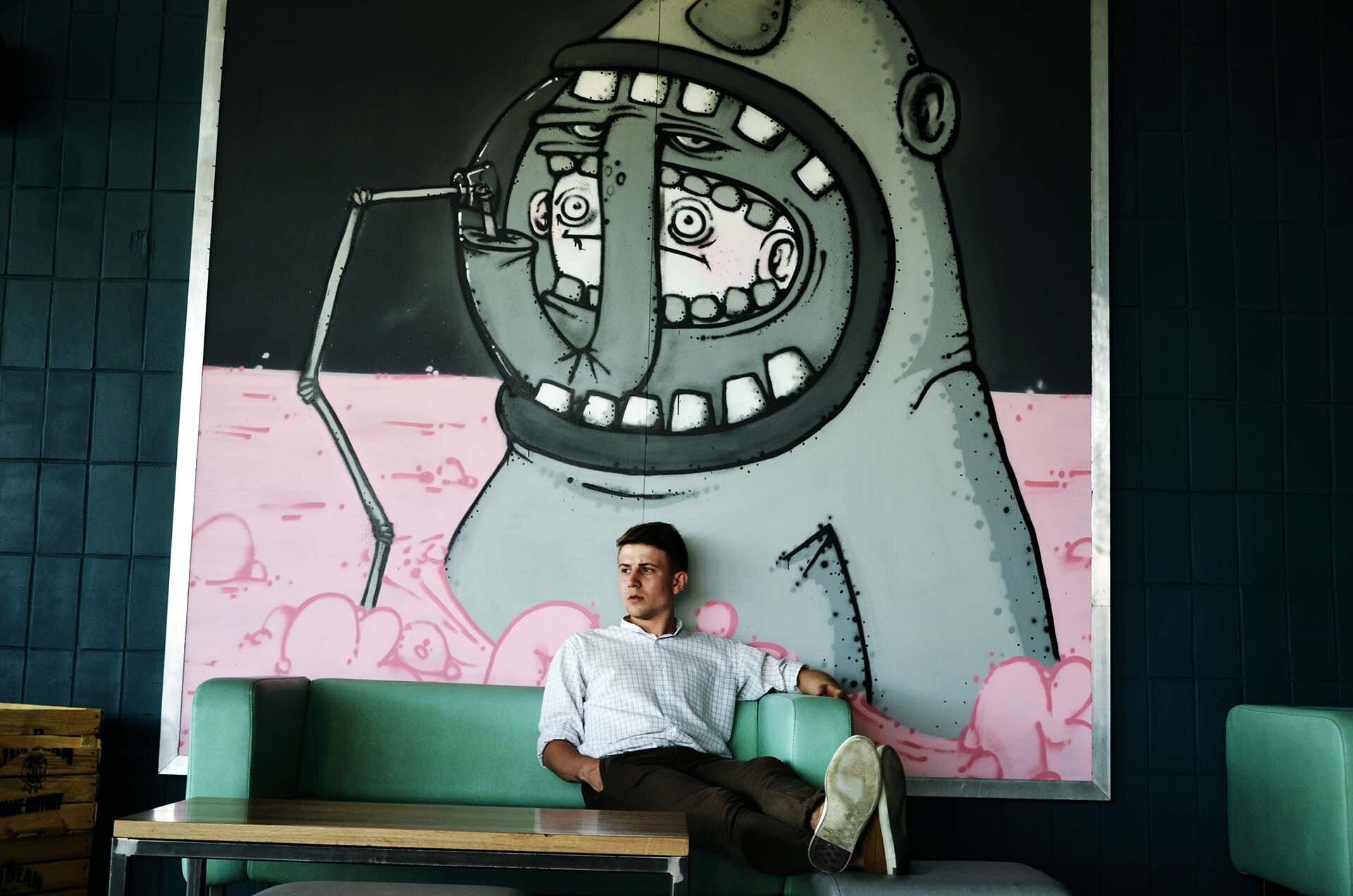 GMALE by Grzegorz Paliś, blog o modzie męskiej, Forum Przestrzenie, jedzenie w Krakowie