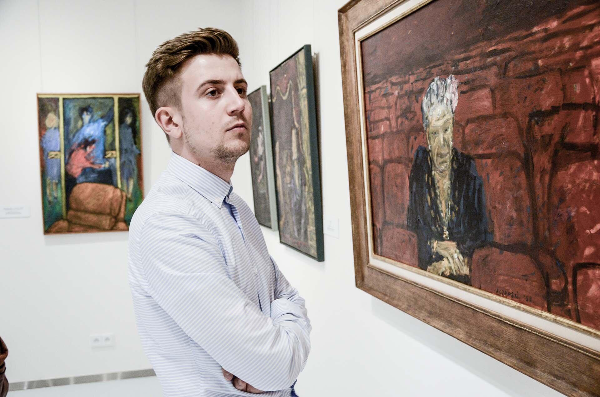 GMALE by Grzegorz Paliś, blog o modzie męskiej, Pawilon Józefa Czapskiego, Muzeum Kraków, koszula męska