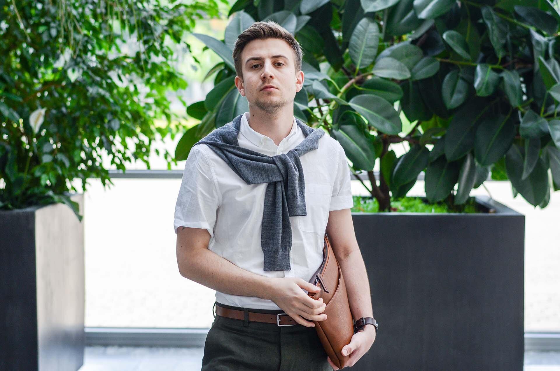 Krótki rękaw - Koszula i krótkie spodenki