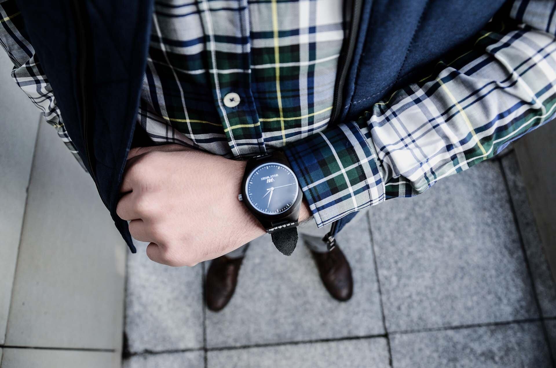 GMALE by Grzegorz Paliś, blog o modzie męskiej, Kamizelka pikowana męska, Ocieplacz męski, Szare spodnie wełniane, Brogsy, Wood Wilder