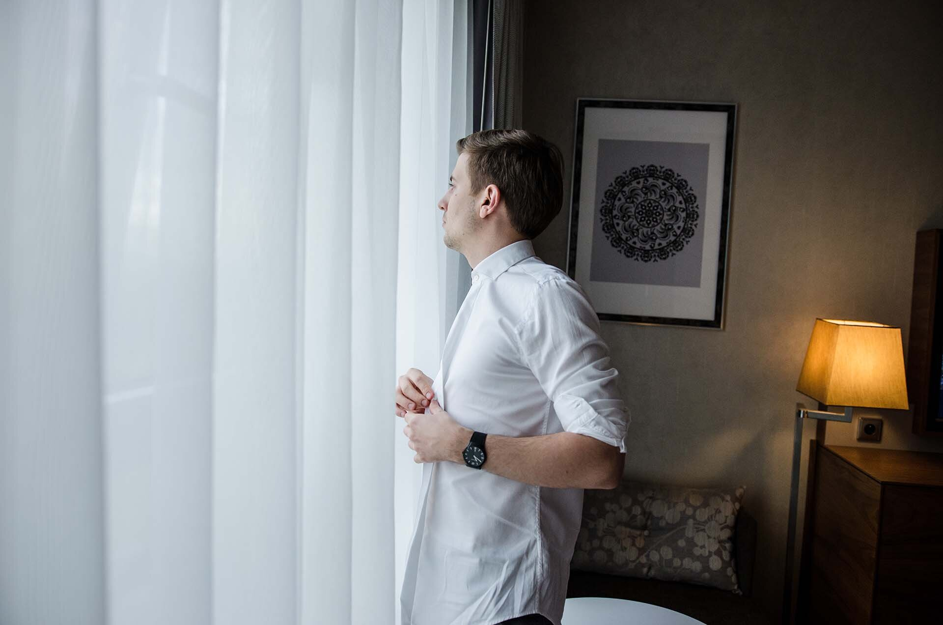 GMALE by Grzegorz Paliś, blog o modzie męskiej, Moda męska, Krawat dziergany, Krawat knit, Krawat knitowy, Apart, Zegarek męski Apart, Zegarek Apart, Zegarek AM:PM, Hotel Hilton, Tree by Hilton Kraków, Apartament Prezydencki Tree by Hilton