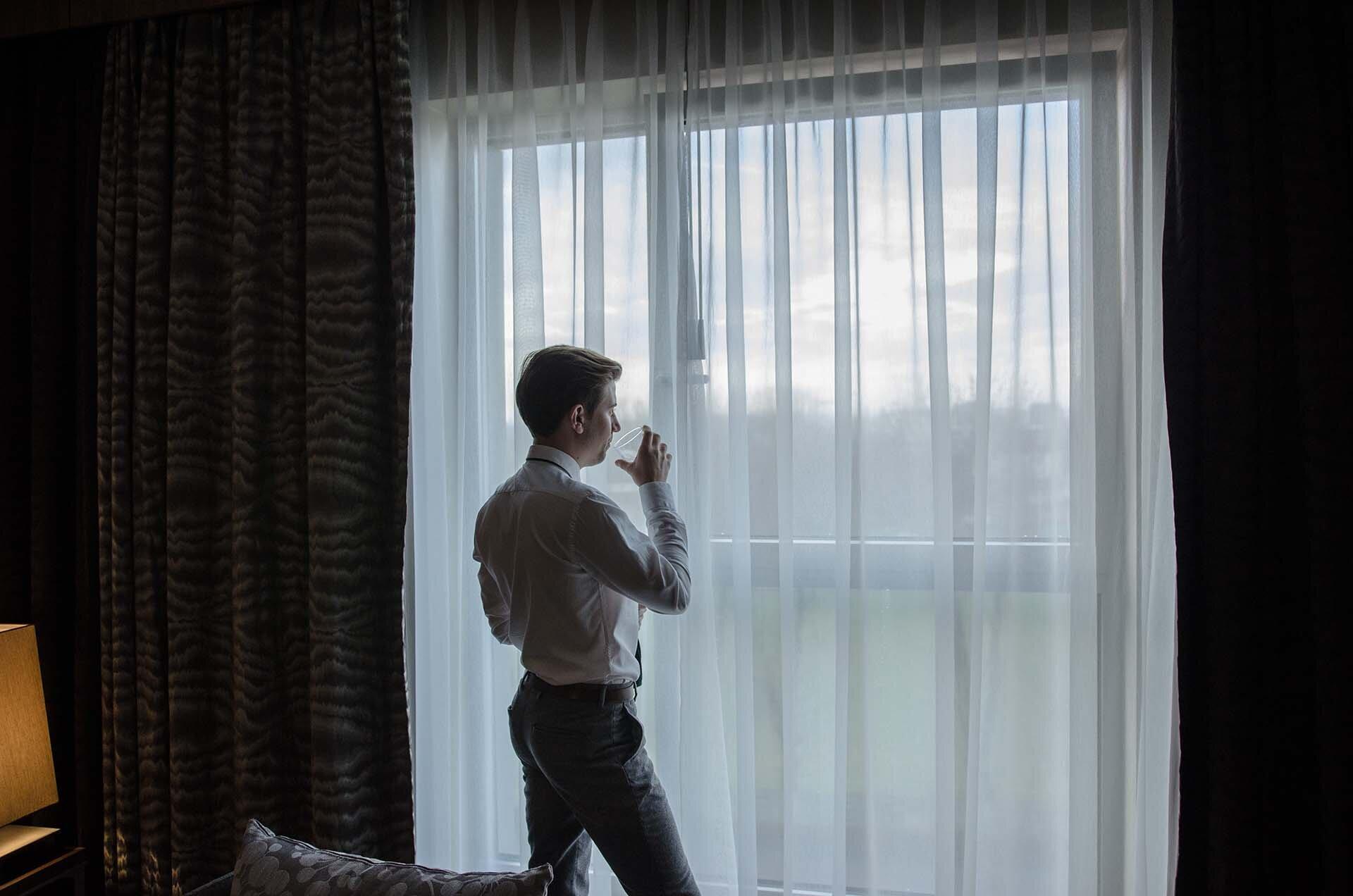 GMALE by Grzegorz Paliś, blog o modzie męskiej, Moda męska, Krawat dziergany, Krawat knit, Krawat knitowy, Apart, Zegarek męski Apart, Zegarek AM:PM, Hotel Hilton, Tree by Hilton Kraków, Apartament Prezydencki Tree by Hilton