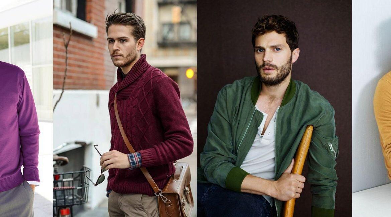 Łącznie kolorów - Jak łączyć ze sobą kolory - Jakie kolory są męskie? - Jakie kolory powinien nosić mężczyzna