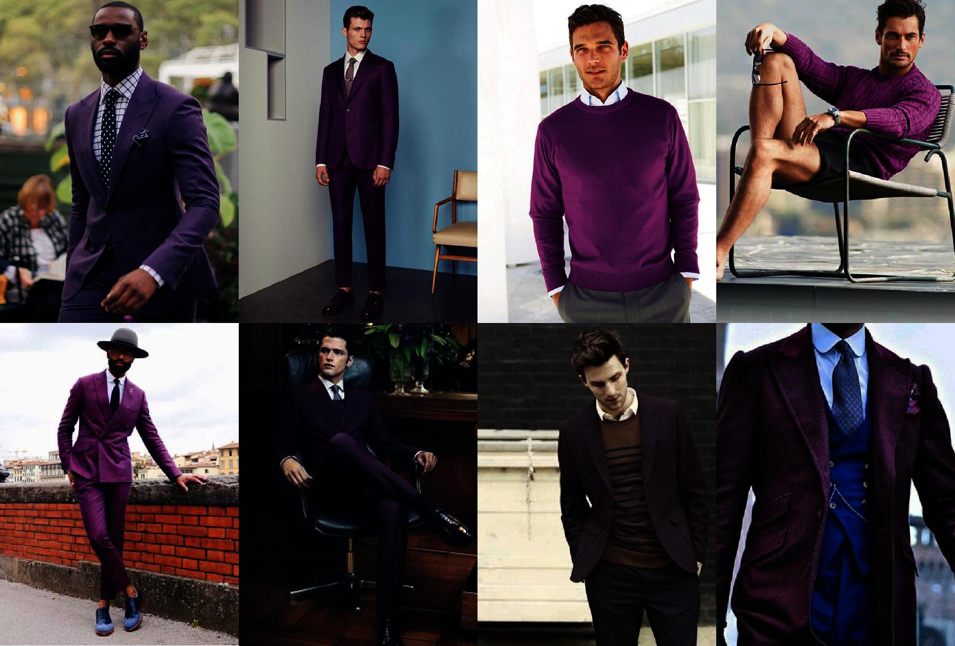 Łącznie kolorów - kolor fioletowy - kolory pasujące do fioletu
