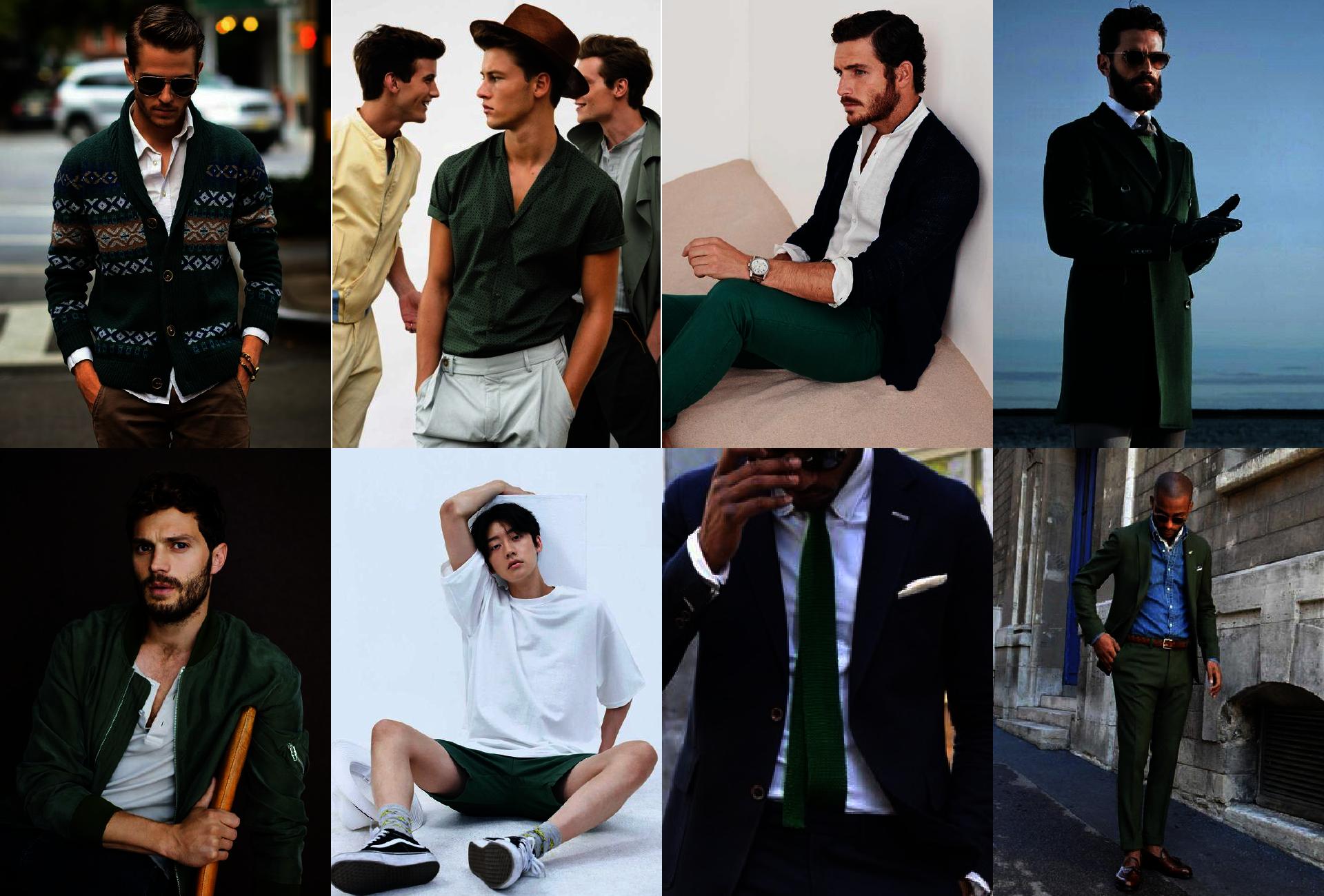 Łącznie kolorów - zielony - kolory pasujące do zielonego