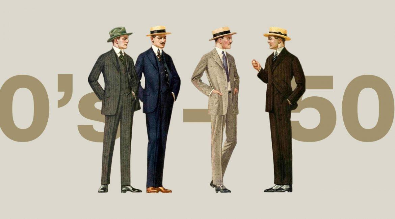 Historia mody męskiej - 50 lat mody męskiej - Moda męska blog - Blog o modzie męskiej