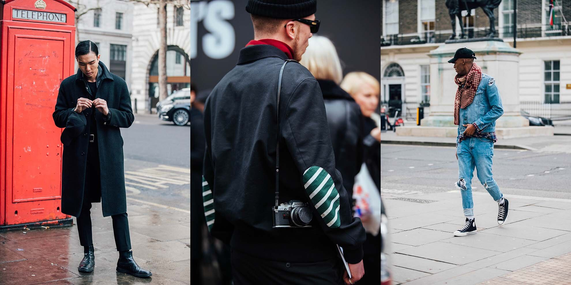 Men's fashion week 2017 London - Męski Fashion Week w Londynie - London streetwear - Pokazy body męskiej w Londynie
