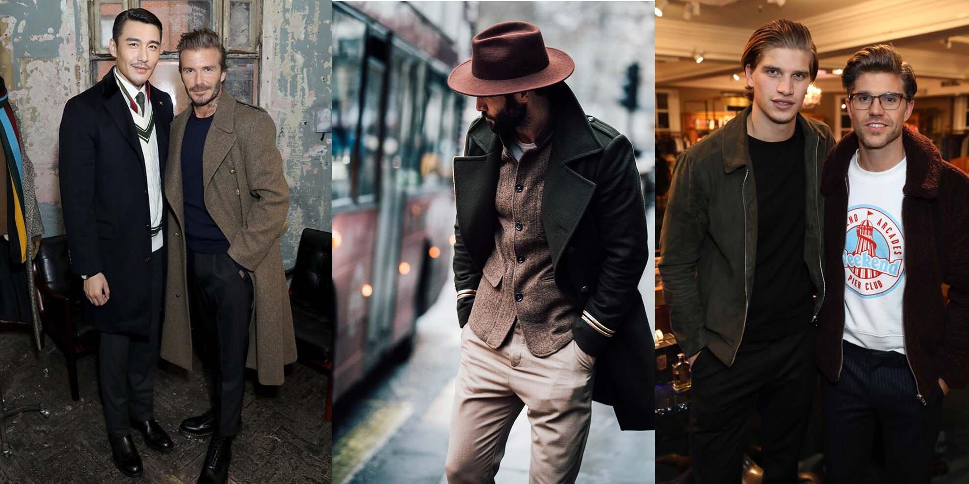Men's fashion week 2017 London - Męski Fashion Week w Londynie - London streetwear - Pokazy mody męskiej w Londynie - David Beckham moda męska