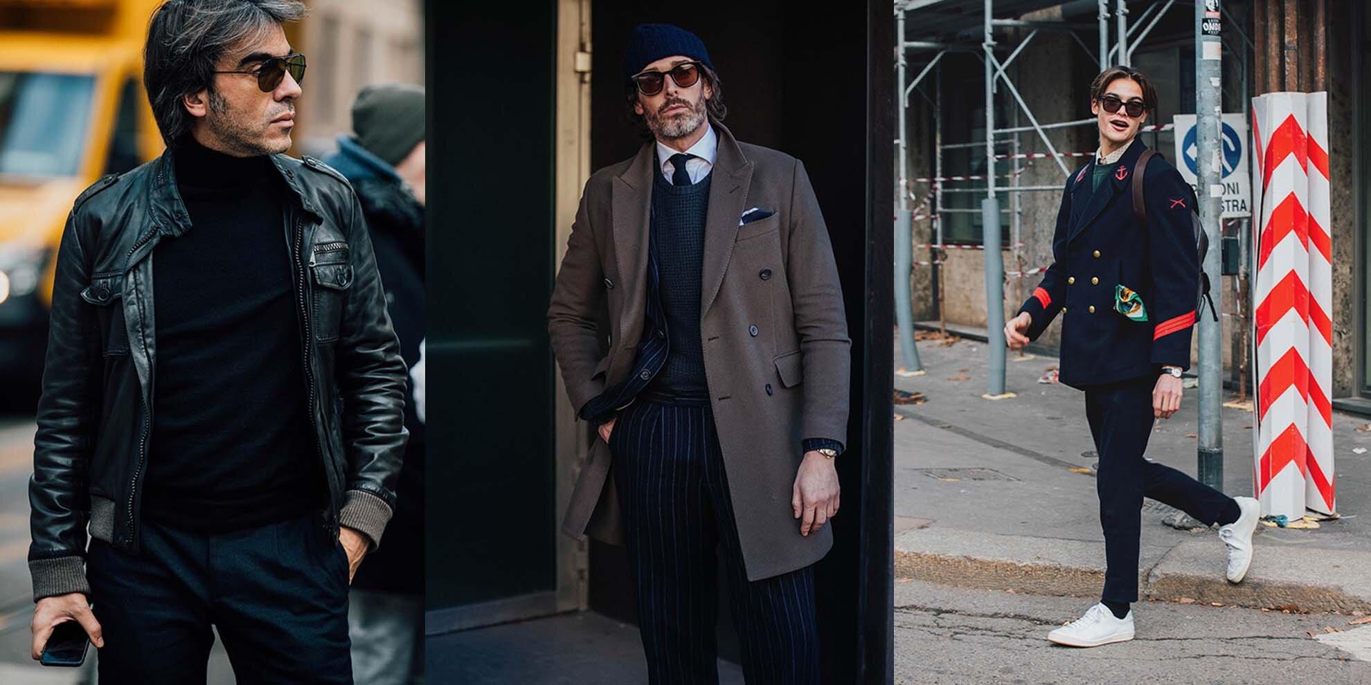 Milano men's fashion week - Mediolańskim fashion week - Mediolan Street Style - Styl mężczyzny w Mediolanie