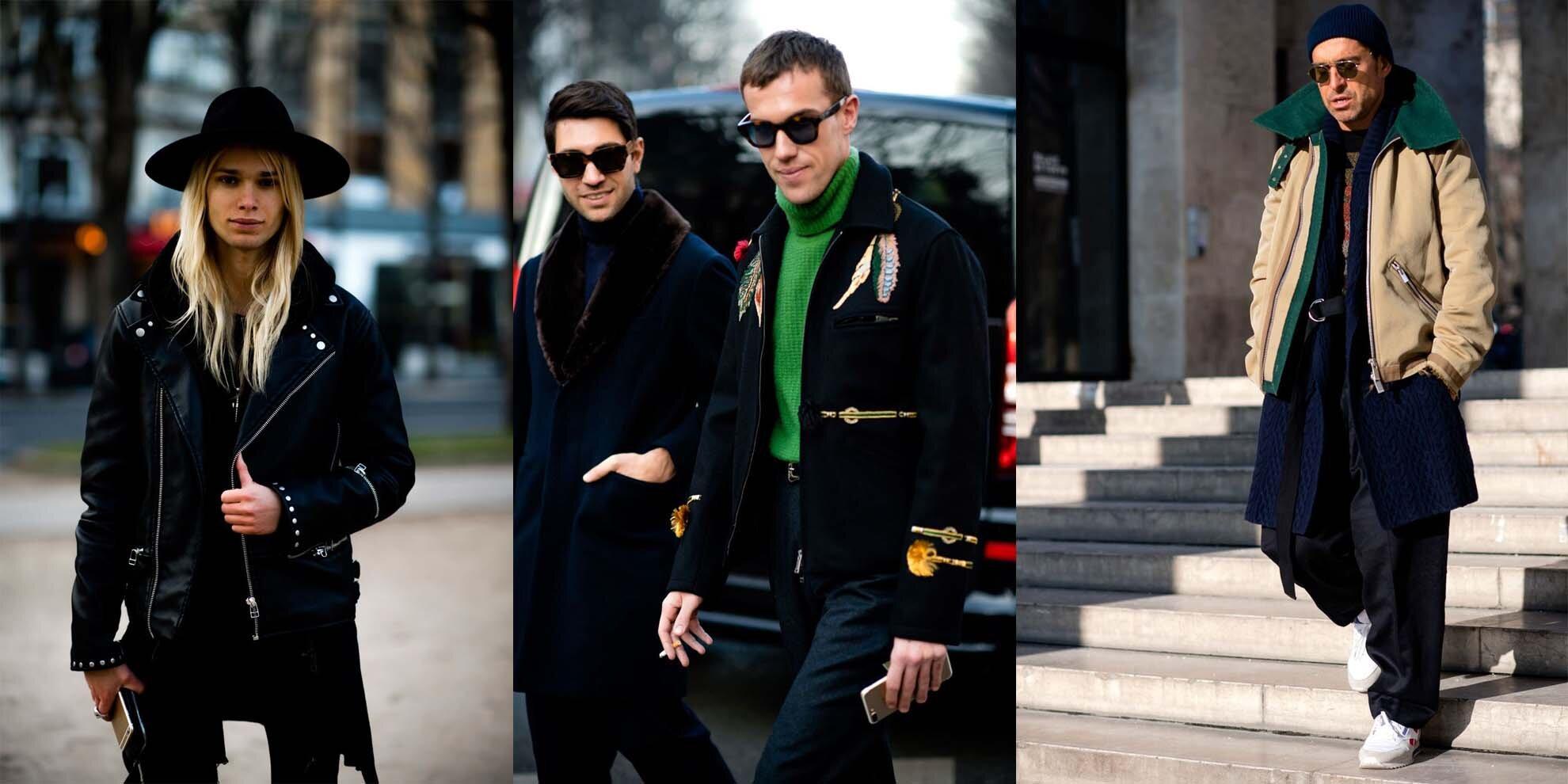 Paris Men's Fashion Week - Paryski tydzień mody - Moda męska  w Paryżu - Jak ubierają się mężczyźni w Paryżu?