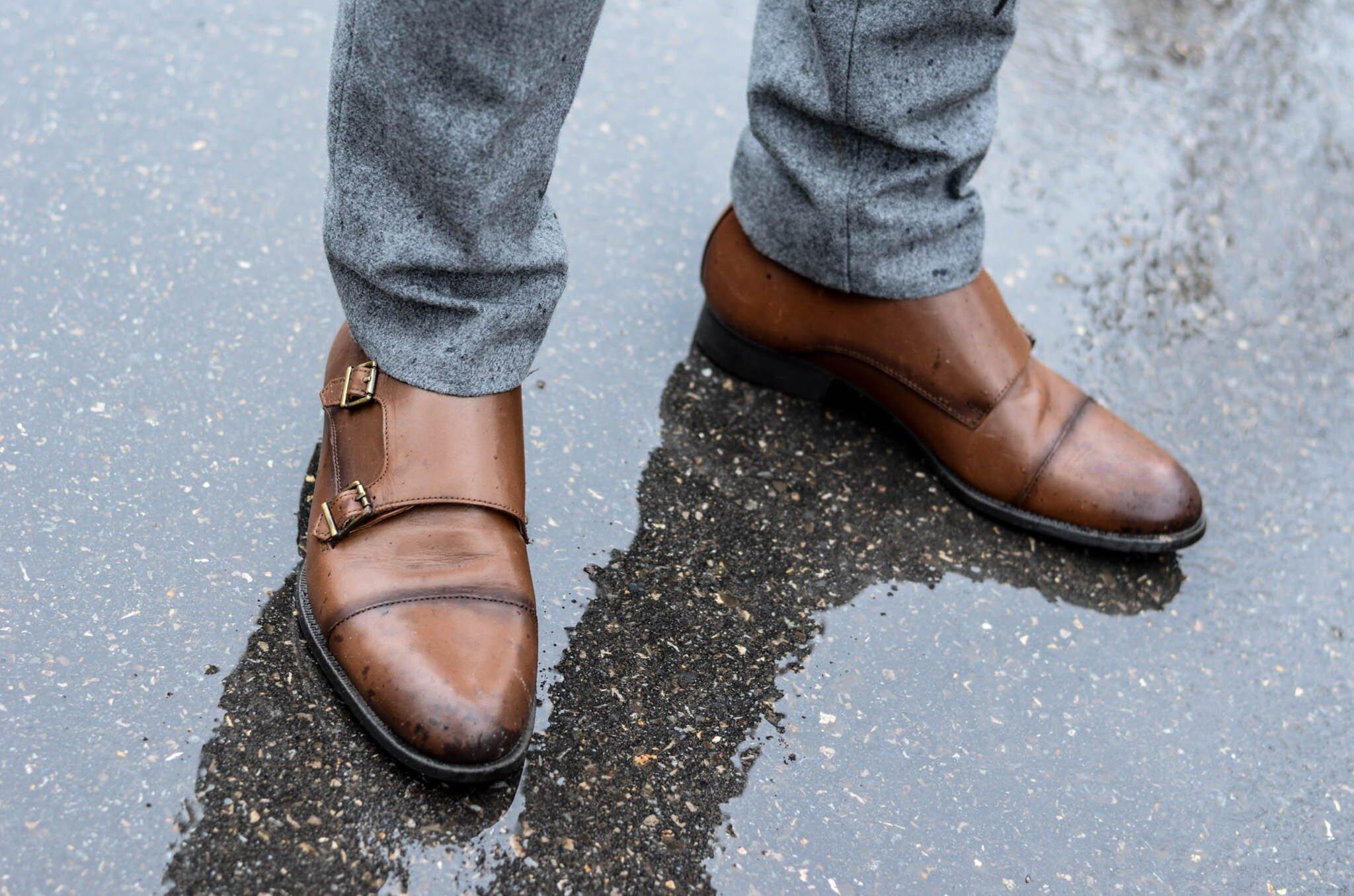 Monki męskie Zara, Klastyczne buty męskie