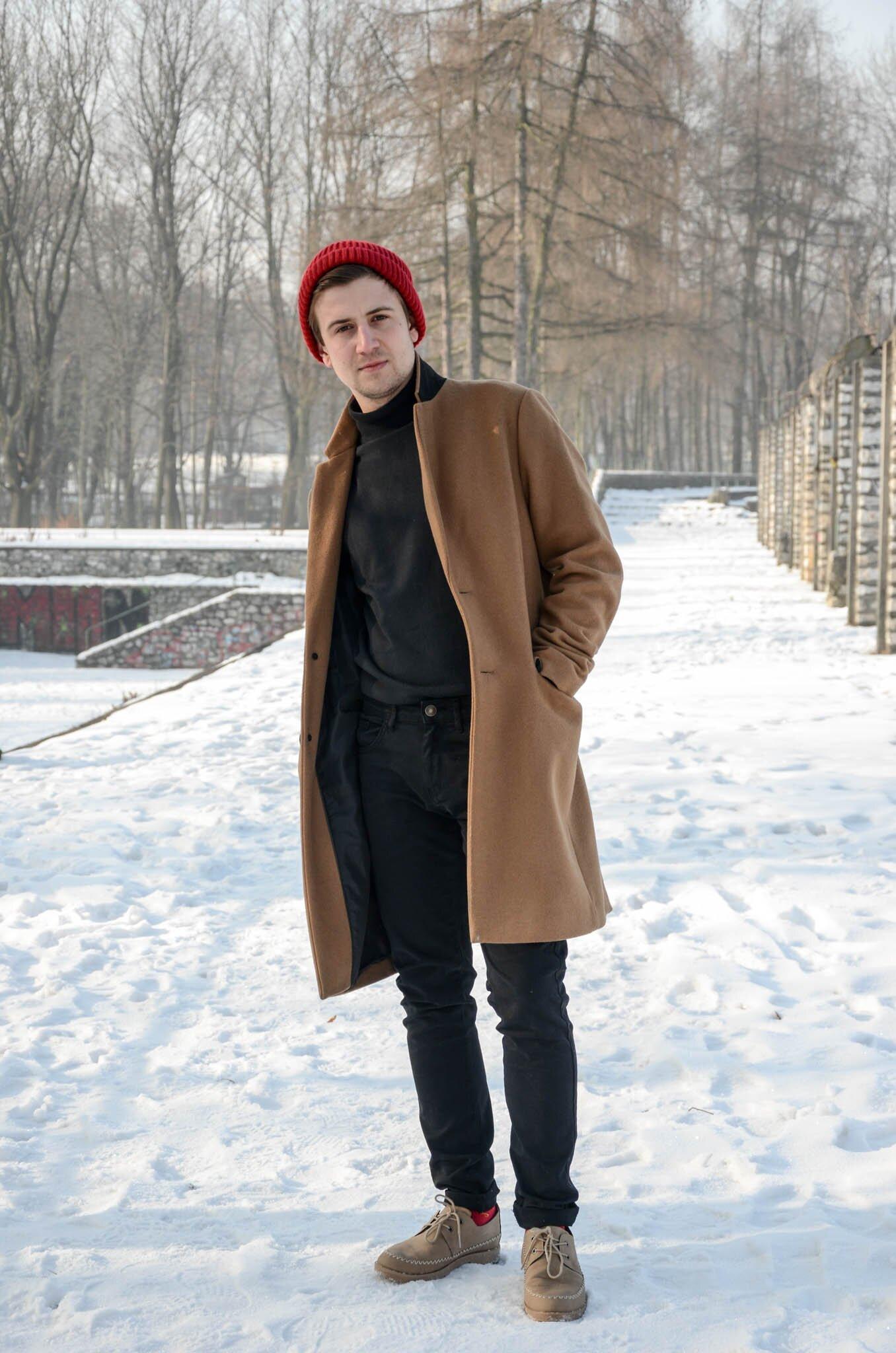 Zimowy outfit, Męska moda zimą, Jak powinien ubierać się mężczyzna zimą