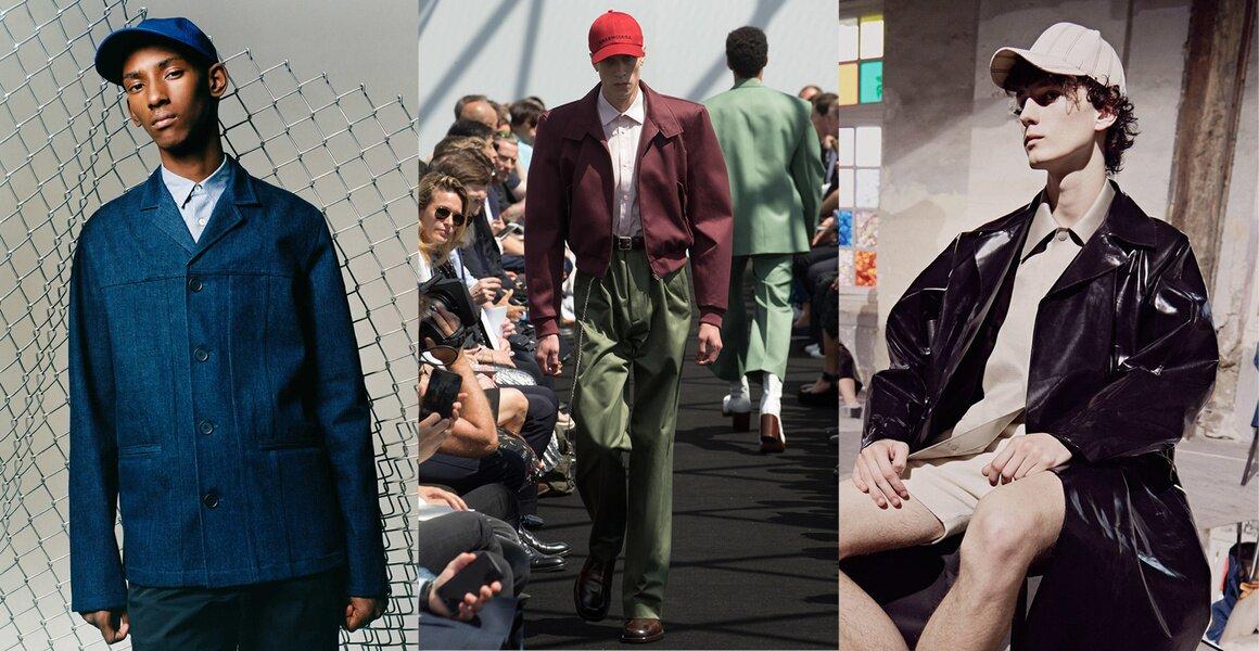 Trendy w modzie męskiej wiosna-lato 2017, Czapka z daszkiem