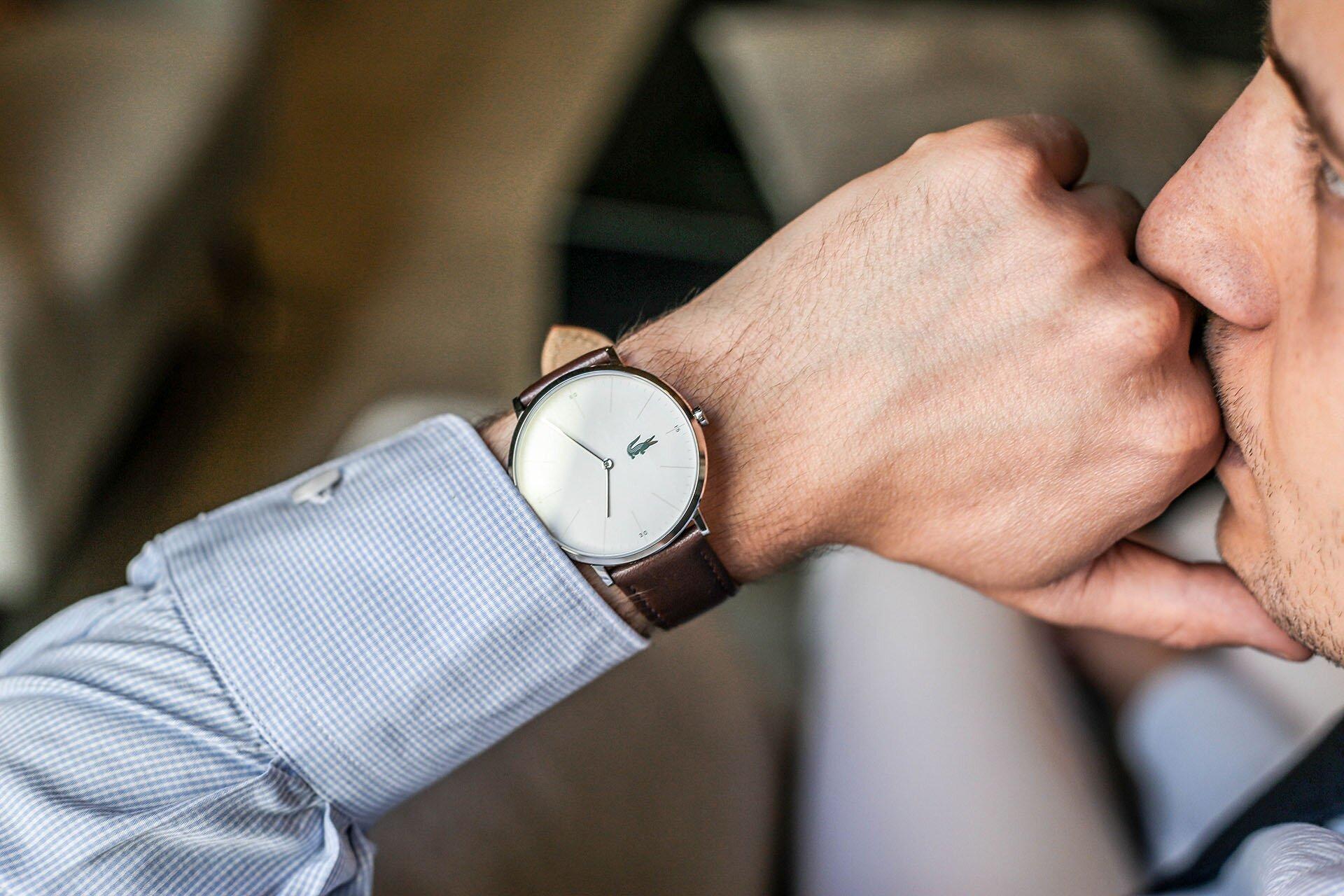 Klasyczne zegarki męskie, Zegarek Lacoste, GMALE, Grzegorz Paliś, Blog o modzie męskiej
