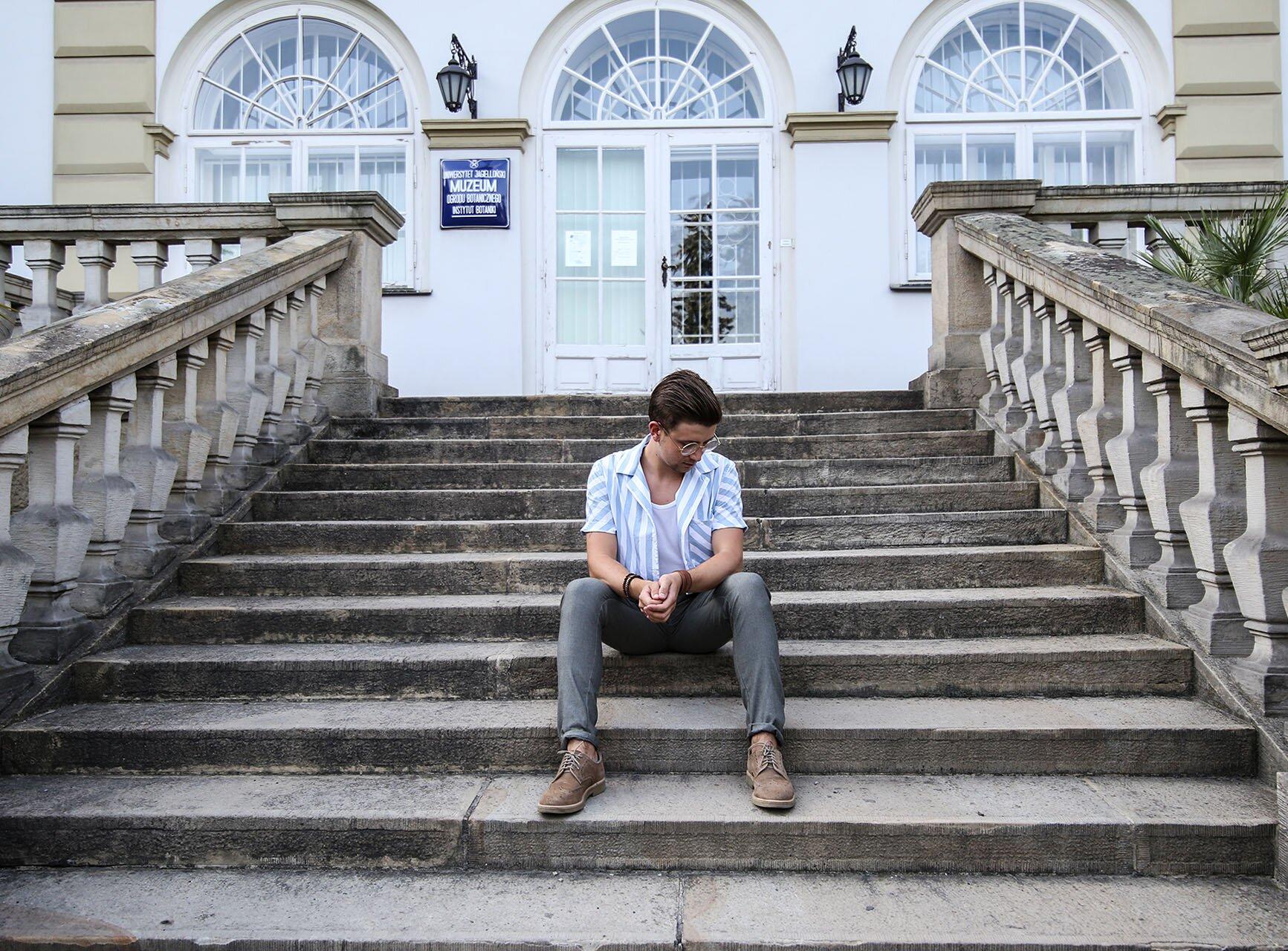 Grzegorz Paliś czyli bloger modowy z Krakowa, Moda męska Kraków, Blog o modzie męskiej, Moda dla mężczyzn