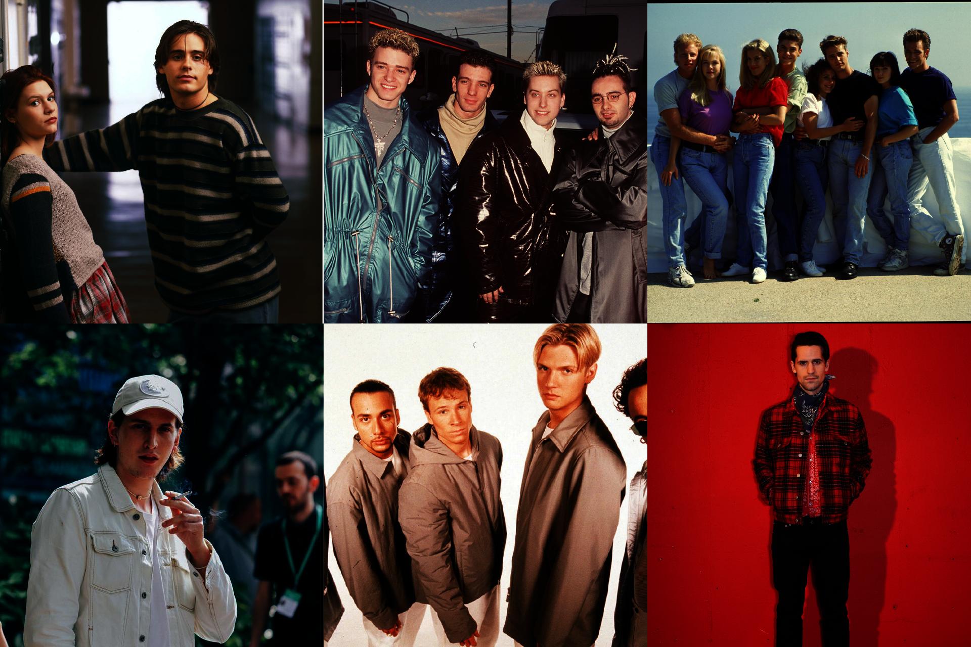 Historia mody męskiej, lata 90. w modzie męskiej