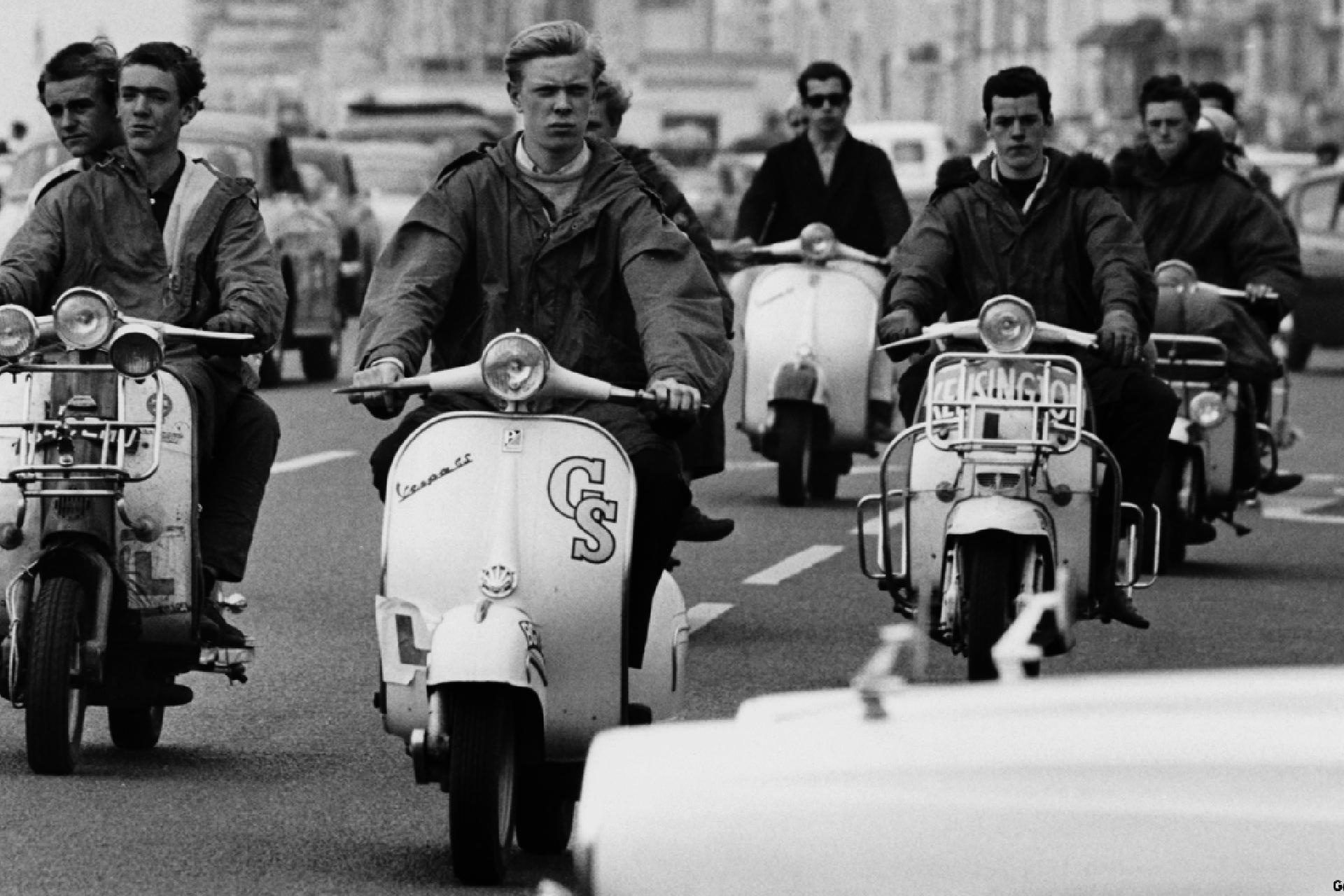 Historia mody męskiej, lata 60. w modzie męskiej, Modsi, Styl The Who