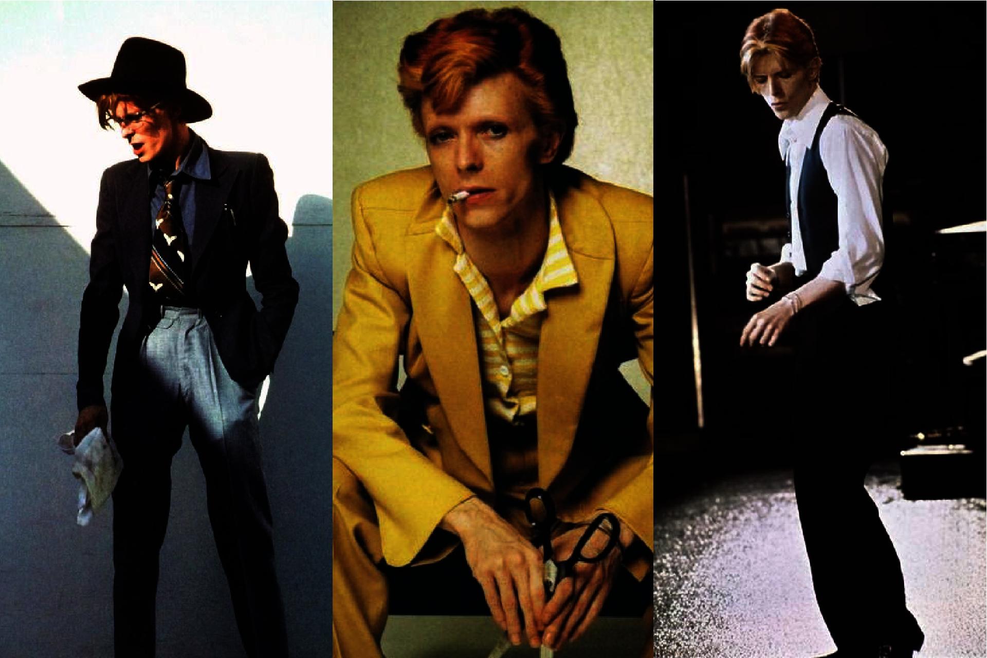 Historia mody męskiej, lata 70. w modzie męskiej, Styl Davida Bowiego