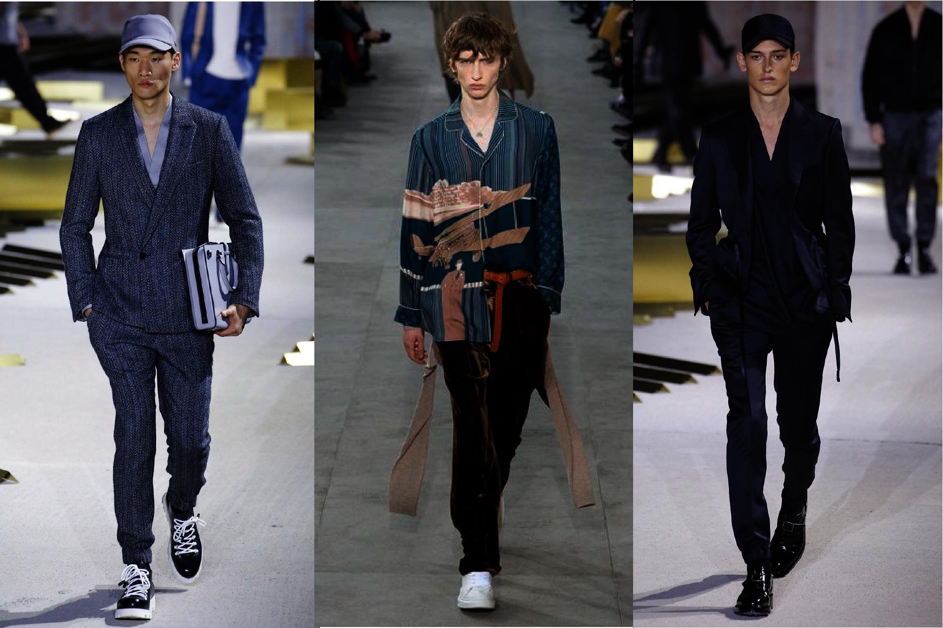 Trendy w modzie męskiej jesień-zima 2017, Pokazy mody męskiej jesień-zima 2017, Koszule jedwabne męskie, Moda pidżamowa, Blog o modzie męskiej
