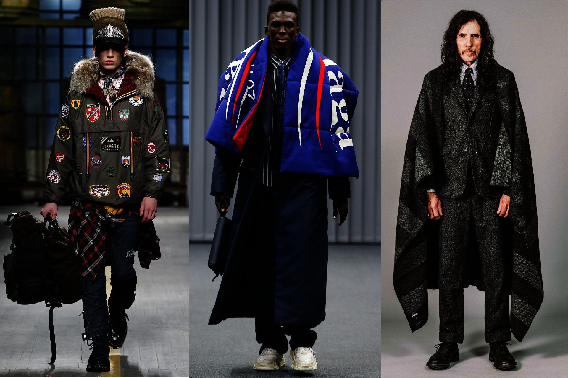 Trendy w modzie męskiej jesień-zima 2017, Pokazy mody męskiej jesień-zima 2017, Make America Great Again