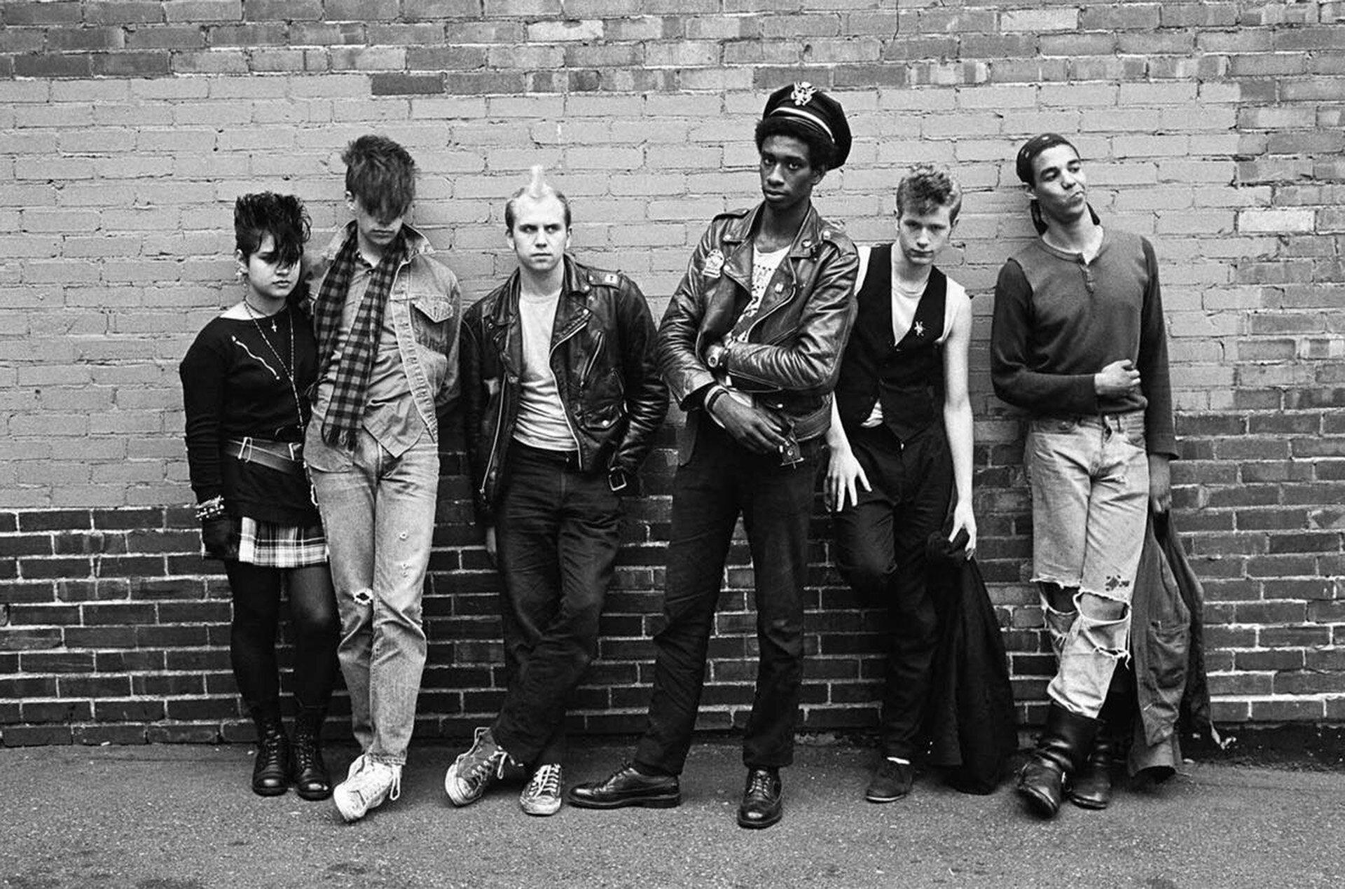 Historia mody męskiej, lata 80. w modzie męskiej, Styl grunge, Style The Ramones