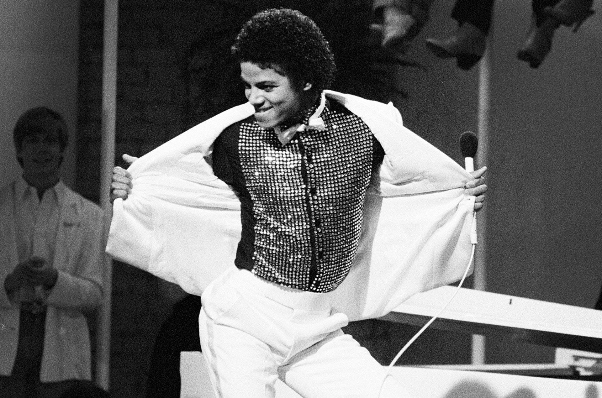 Historia mody męskiej, lata 80. w modzie męskiej, Styl Michaela Jacksona
