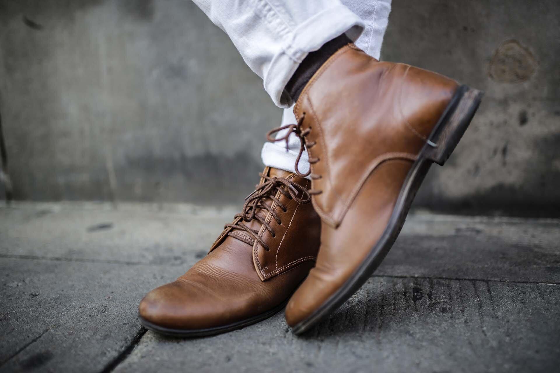 Skórzane buty Zalando, Buty męskie Zalando