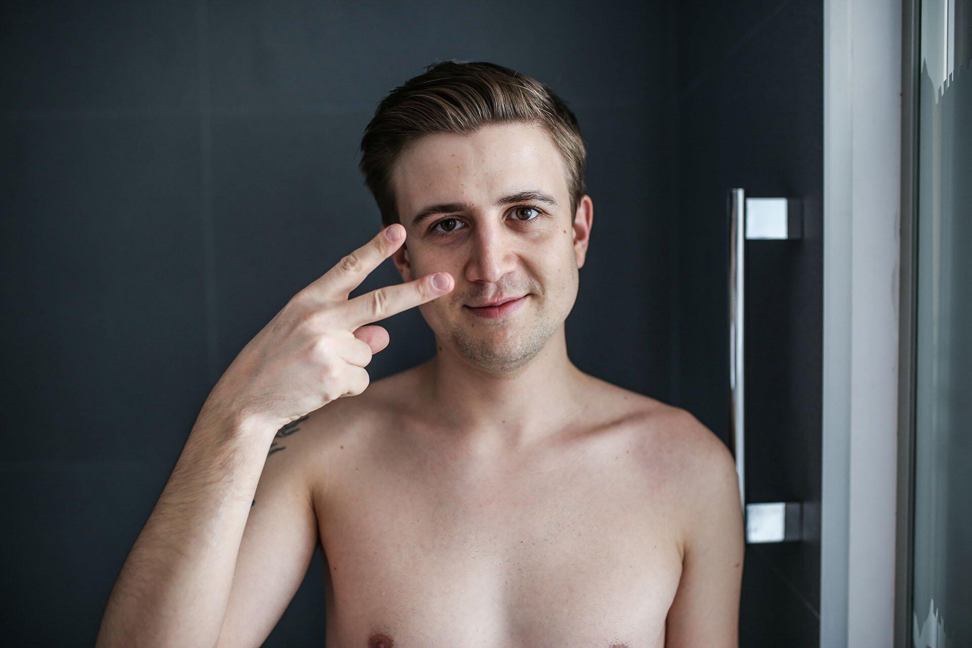 Twarz mężczyzny, Jak dbać o twarz mężczyzny, Eisenberg, Męskie kosmetyki, GMALE blog dla mężczyzn, Moda męska i męski lifestyle, Maski na twarz dla mężczyzn