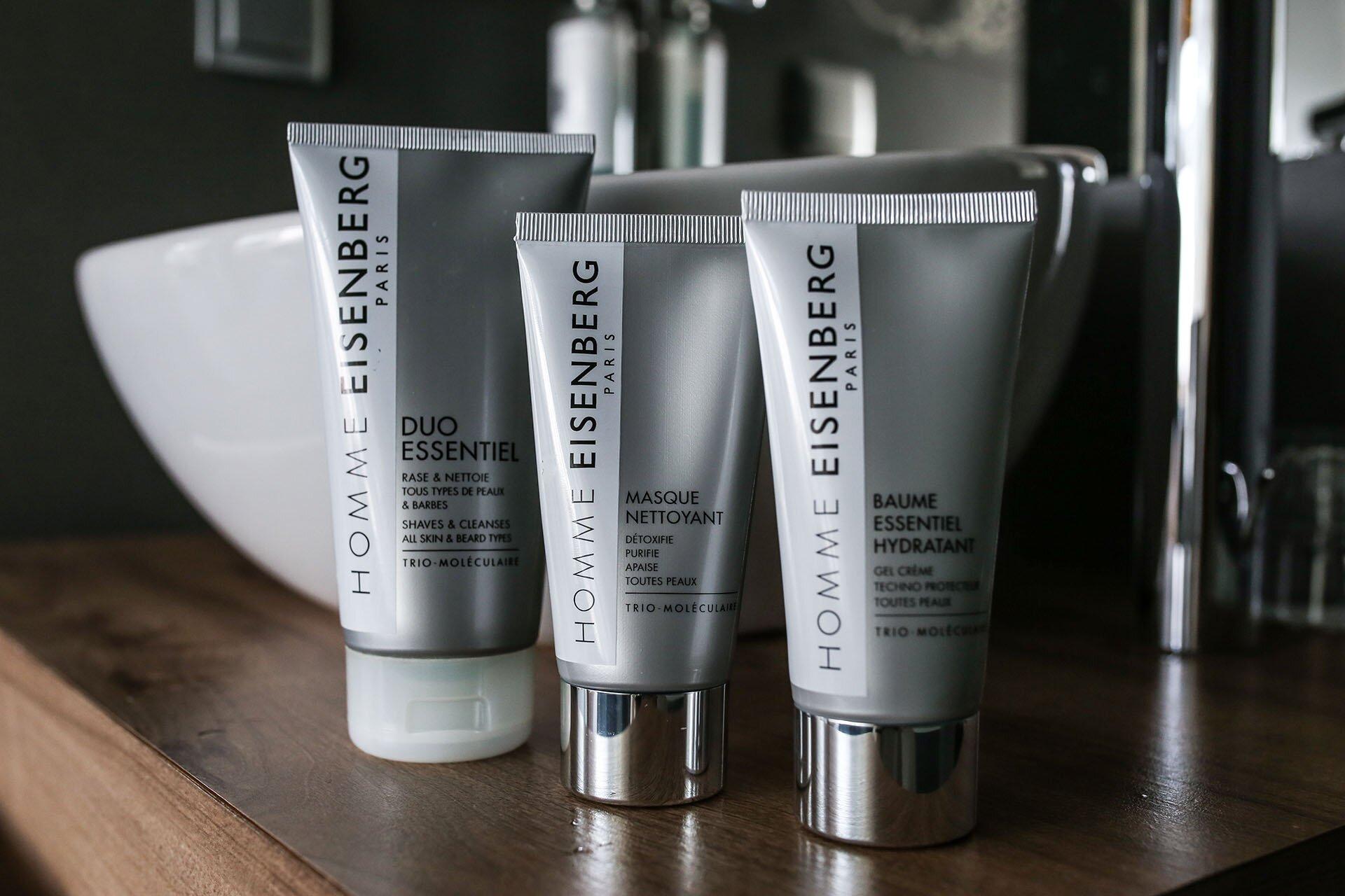 Twarz mężczyzny, Kosmetyki Eisenberg dla mężczyzn, Męskie kosmetyki, Kosmetyki dla mężczyzn, Jakich kosmetyków używają mężczyźni?