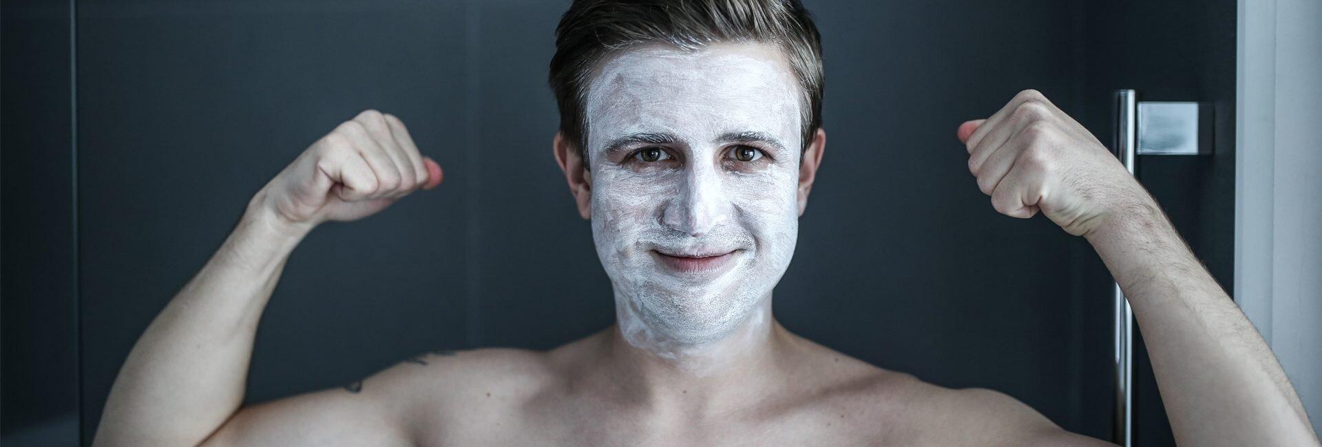 Twarz mężczyzny, Jak dbać o twarz mężczyzny, Kosmetyki dla mężczyzn, Eisenberg