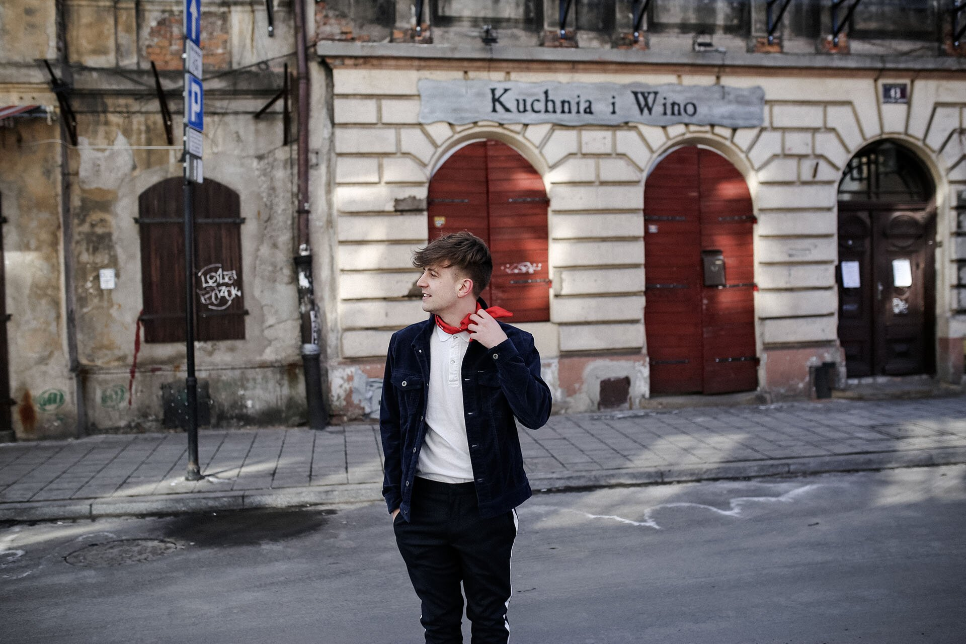 Zegarek męski Pulsar, Sztruks w modzie męskiej, Kurtka sztruksowa męska, Spodnie z lampasami męskie, Bandana męska, GMALE by Grzegorz Paliś, Blog o modzie męskiej