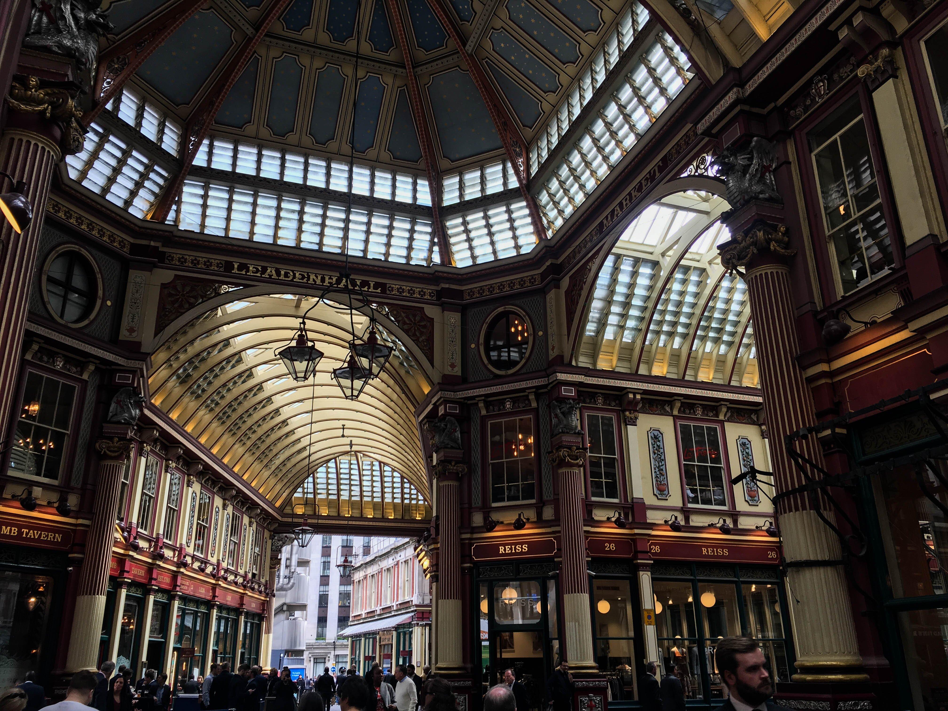 Londyn, Subiektywny przewodnik po Londynie, Gmale Goes To London, Bloger modowy w Londynie, Jak się ubrać do Londynu, Moda męska, Leadenhall Market