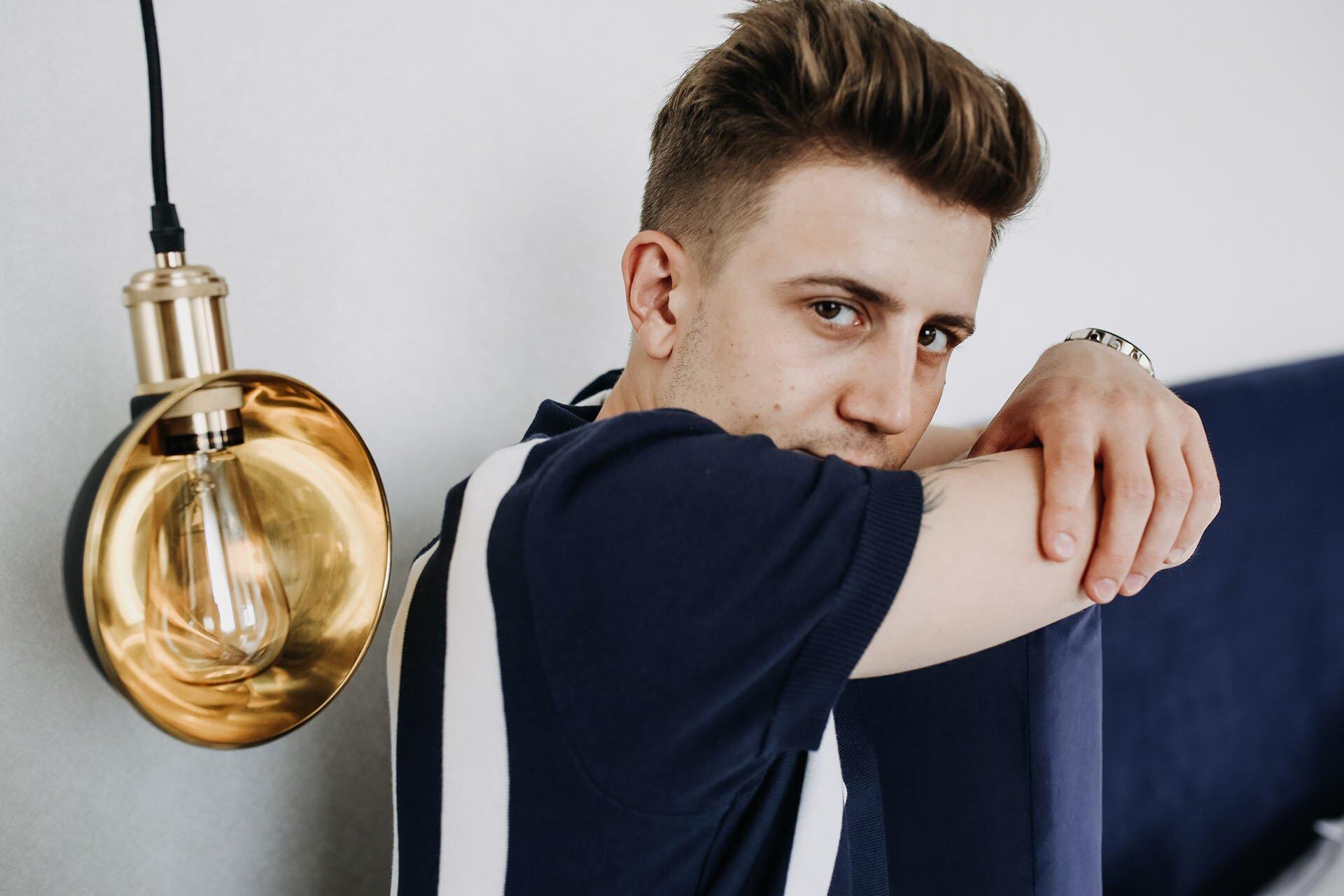 Pasiaste polo, Moda męska, Modny mężczyzna, Blog o modzie męskiej, Lato moda męska 2018, Gmale by Grzegorz Paliś
