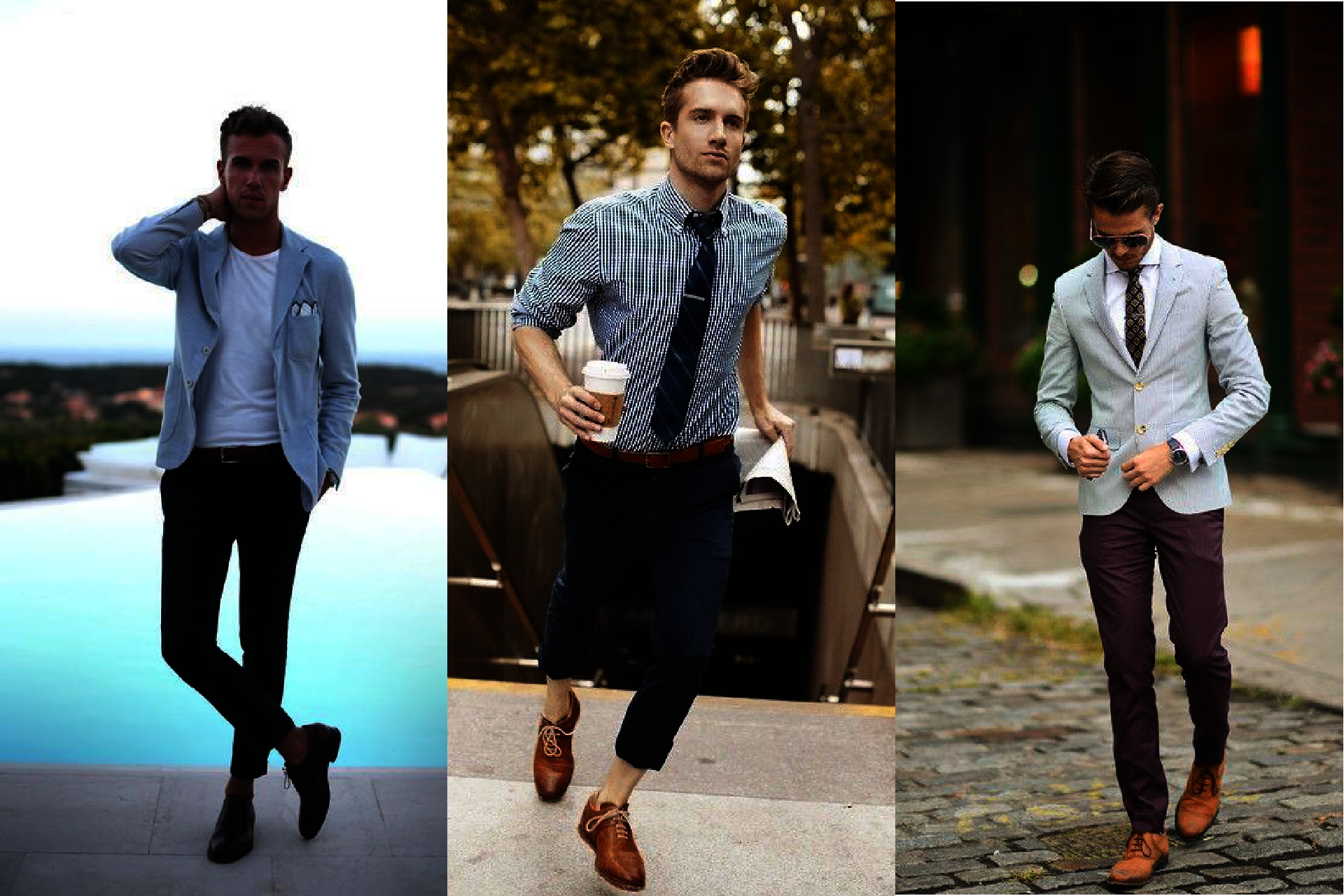 How to wear Oxford? Smart Casual oksfordy, Business Casual Oxfordy