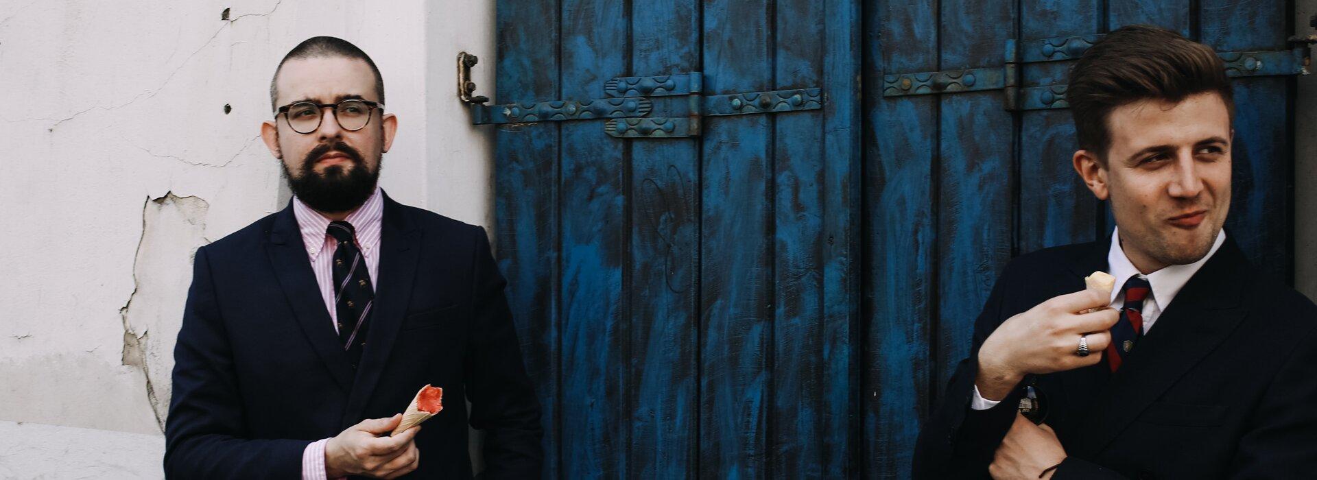 Elegancja, Moda męska, Jakub Bażela, Grzegorz Paliś, Blog o modzie męskiej, Marynarka dwurzędowa granatowa, Dwurzędówka