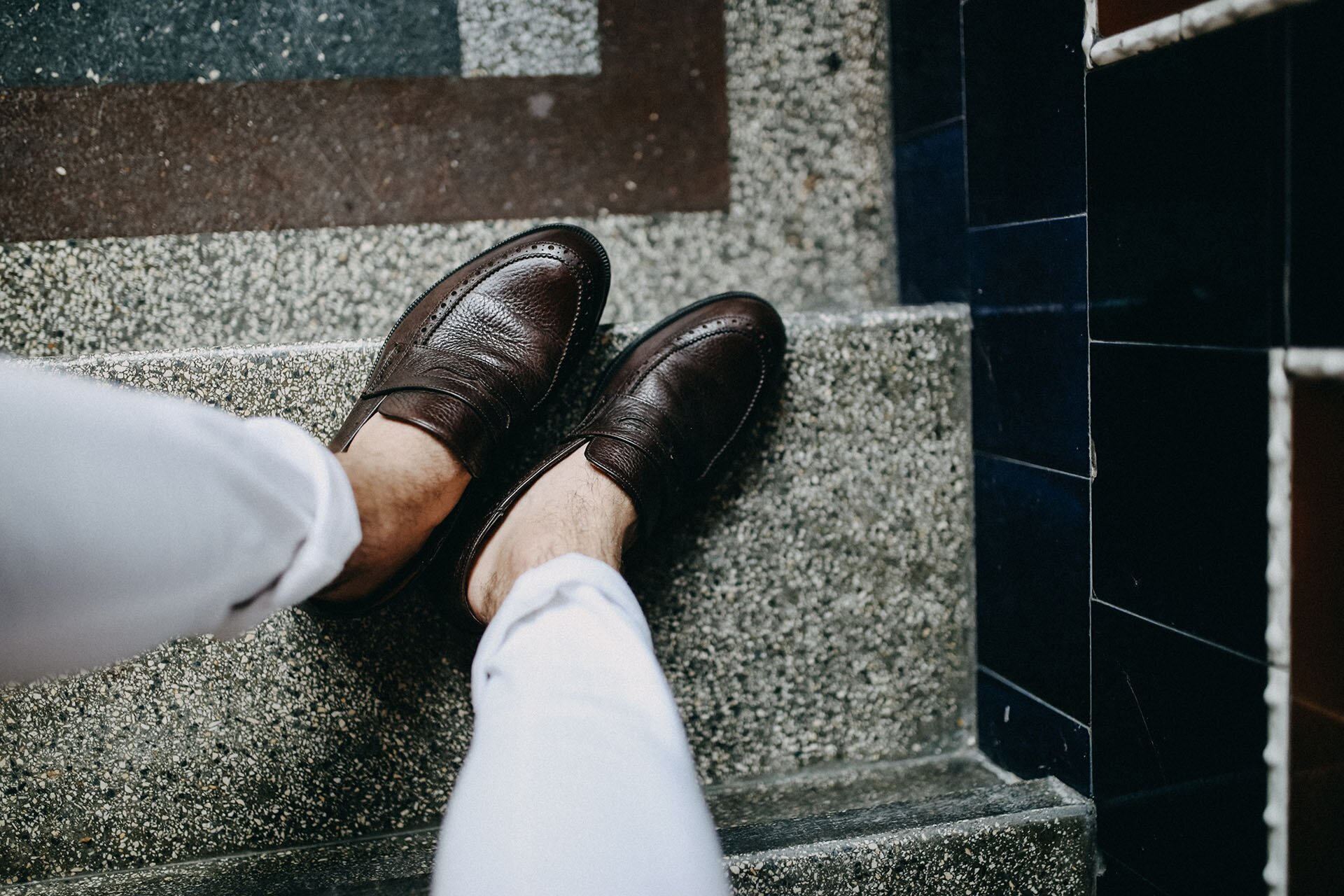 Penny loafers, Mokasyny męskie, Mokasyny Massimo Dutti, Skórzane penny loafers, Moda męska