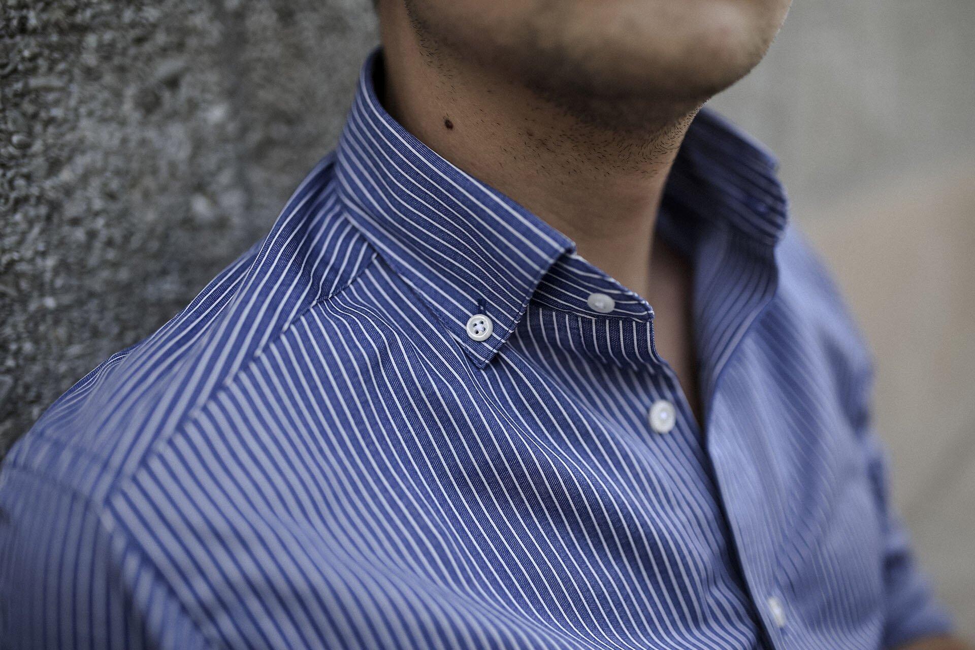 Koszula Massimo Dutti, Koszula męska, Błękitna koszula męska, moda męska, blog o modzie męskiej, Gmale by Grzegorz Paliś