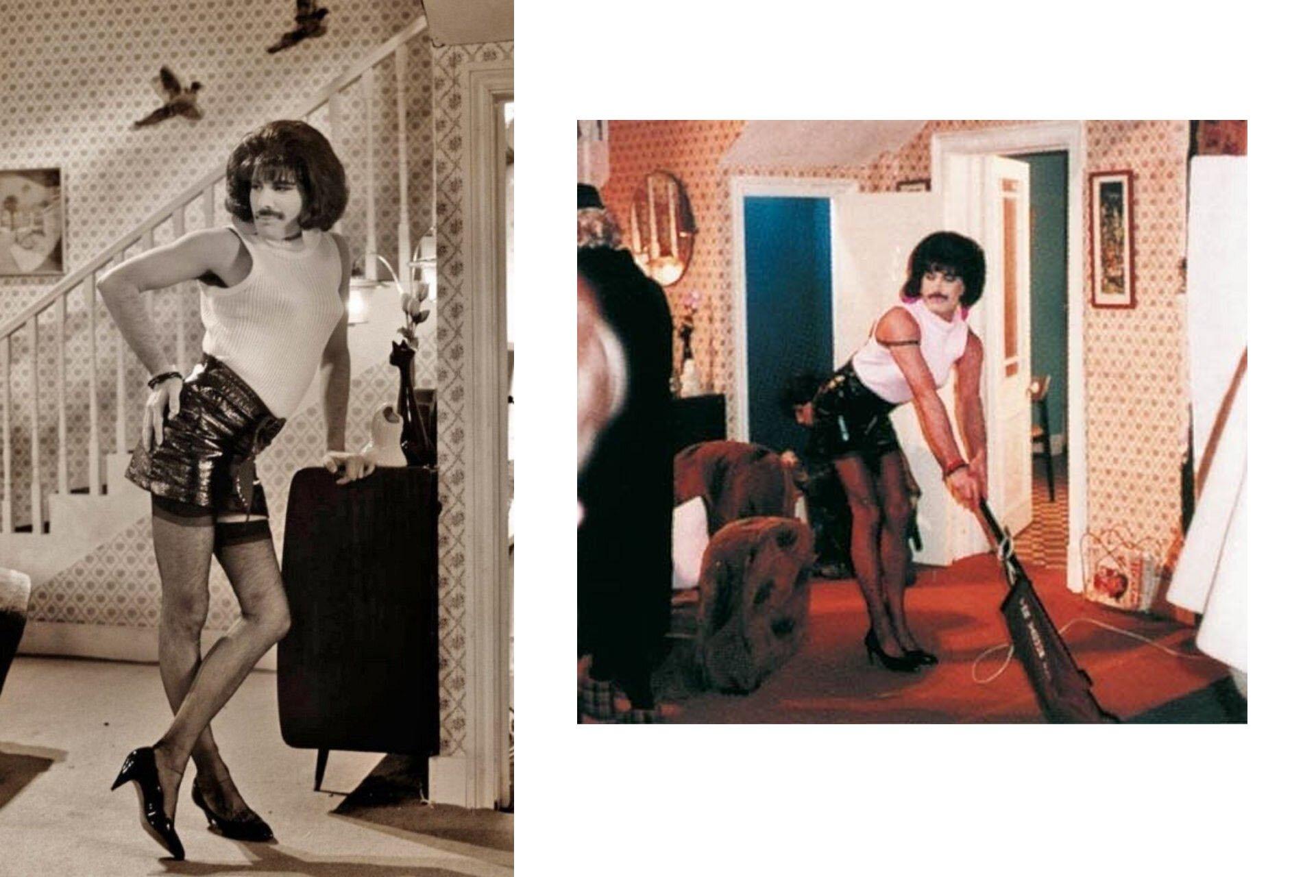 Wszyscy powinniśmy ubierać się jak Freddie, Freddie Mercury, Stylizacje Queen, Stylizacje Freddie, I want to Break Free, 10 przełomowych wcieleń modowych Freddiego