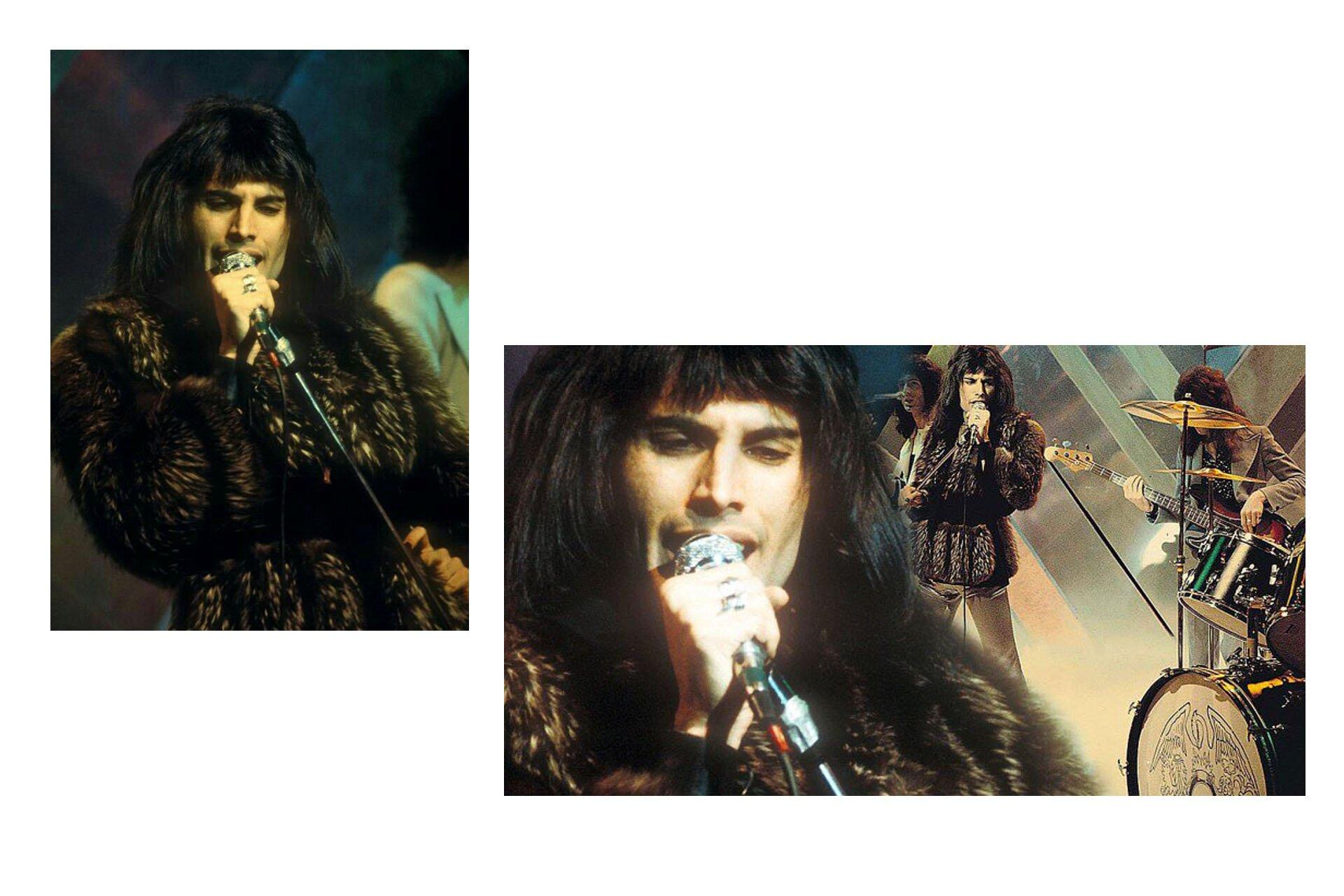Wszyscy powinniśmy ubierać się jak Freddie, Freddie Mercury, Stylizacje Queen, Stylizacje Freddie, Futro Killer Queen, 10 przełomowych wcieleń modowych Freddiego