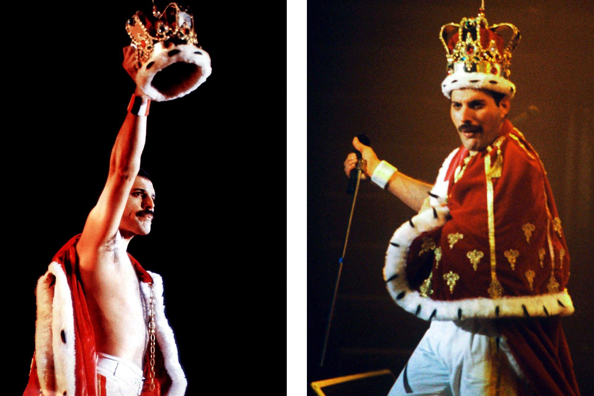 Wszyscy powinniśmy ubierać się jak Freddie, Freddie Mercury, Stylizacje Queen, Stylizacje Freddie, Strój królewski, 10 przełomowych wcieleń modowych Freddiego