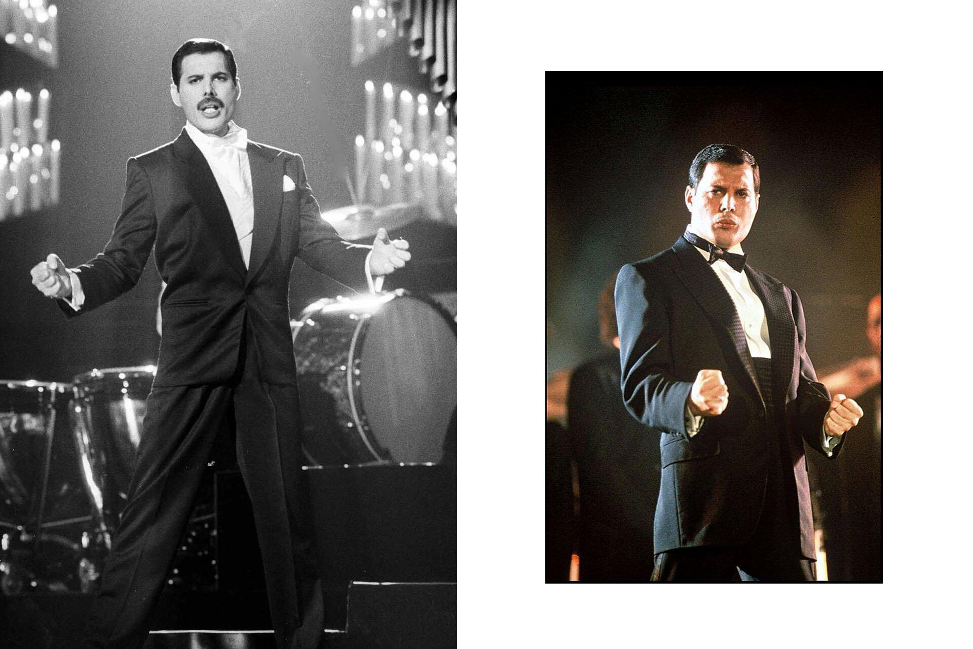 Wszyscy powinniśmy ubierać się jak Freddie, Freddie Mercury, Stylizacje Queen, Stylizacje Freddie, Smoking Barcelona, 10 przełomowych wcieleń modowych Freddiego