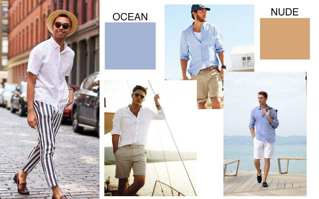 Kolory jak pory roku, Niebieska koszula męska, Koszula Massimo Dutti, Jacques Lemans, INX Design Hotel, GMALE Grzegorz Paliś, Moda Męska