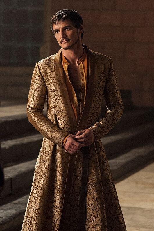 Kostiumy z Gry o Tron, Oberyn Martell, Blog o modzie